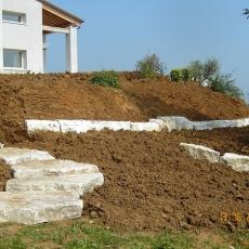 Pavimentazioni e muretti contenitivi